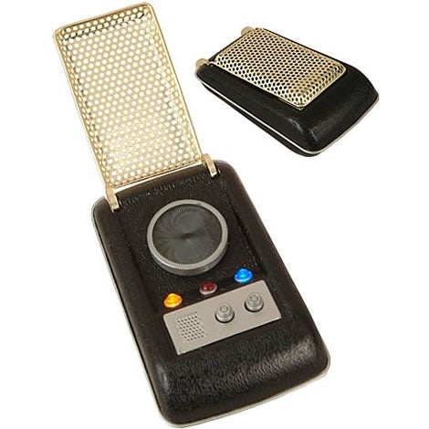 Star Trek Communicator Replica Coming Soon, Sadly Doesn't Communicate