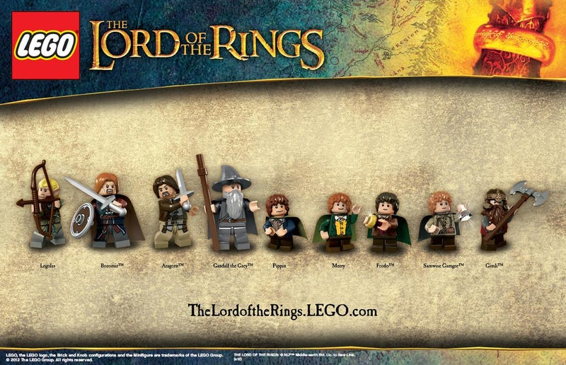 First Look at Lego Gollum And The Rest of the Lord of the Rings Minifig Baddies