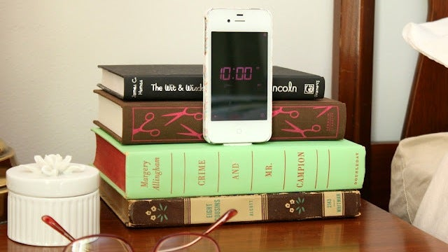 Turn an Old Book into a Bedside Smartphone Dock