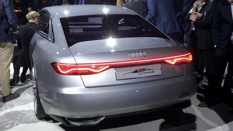 the audi prologue concept is an a9 waiting to happen. Black Bedroom Furniture Sets. Home Design Ideas