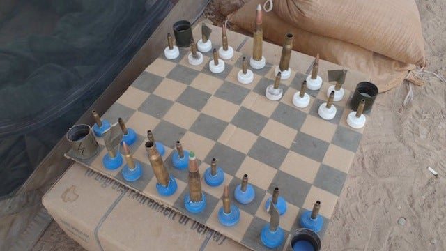 This Is How You Play Chess in a Warzone