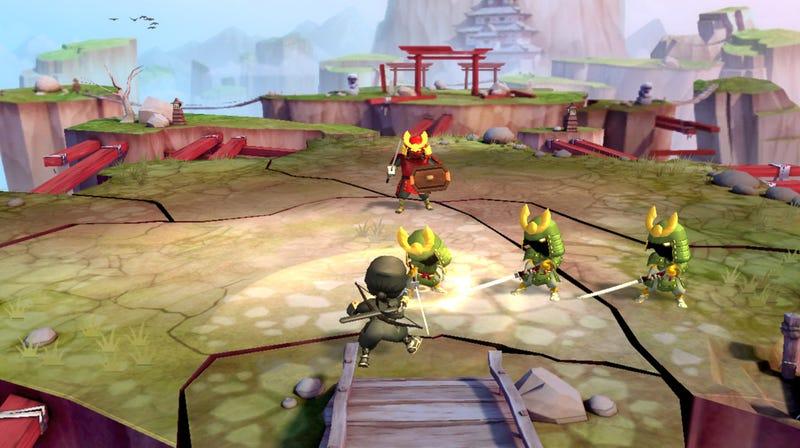 Those Adorable Mini Ninjas Get Kinect-ified for Xbox Live Arcade