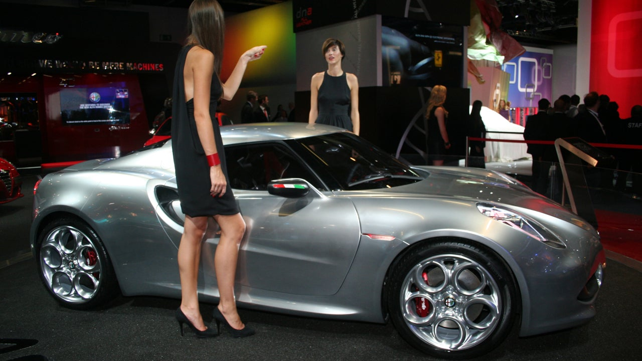 alfa romeo 4c concept these show models have had it. Black Bedroom Furniture Sets. Home Design Ideas