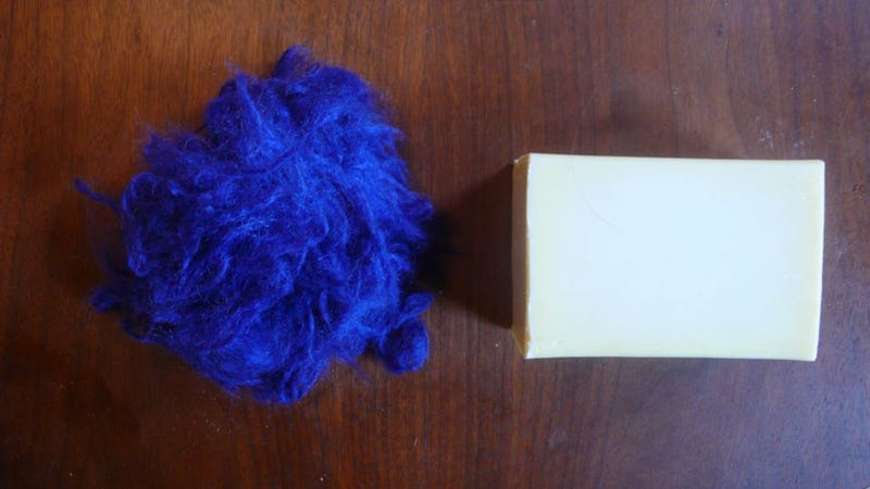 How To Make A Felted Soap