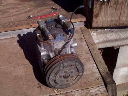 Any use for a crapped out York AC compressor?