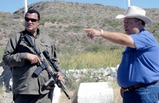 Steven Seagal Will Keep America Safe From Invading Mexicans