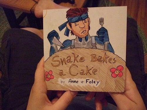 See Snake Bake A Cake