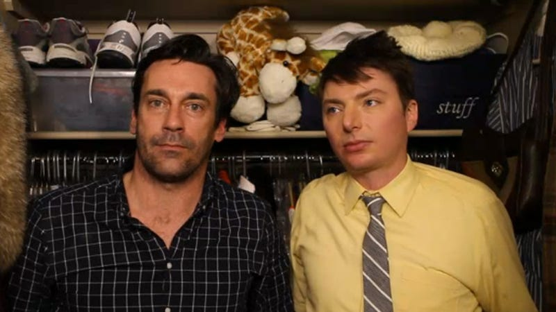 Jon Hamm Does 7 Minutes In Heaven and You Are Not Invited