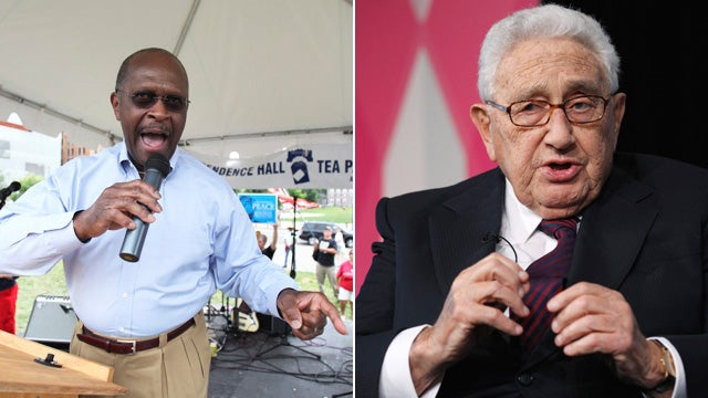 Herman Cain Actually Asked Henry Kissinger to Be His Secretary of State