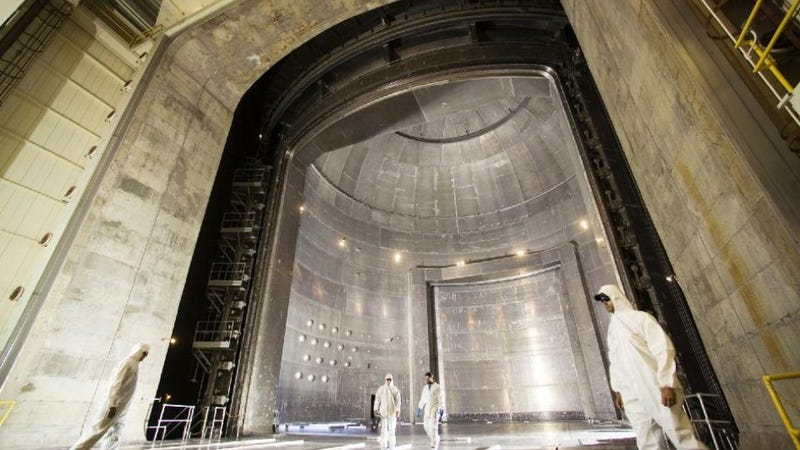 World's Largest Vacuum Chamber Can Swallow Lesser Vacuum Chambers