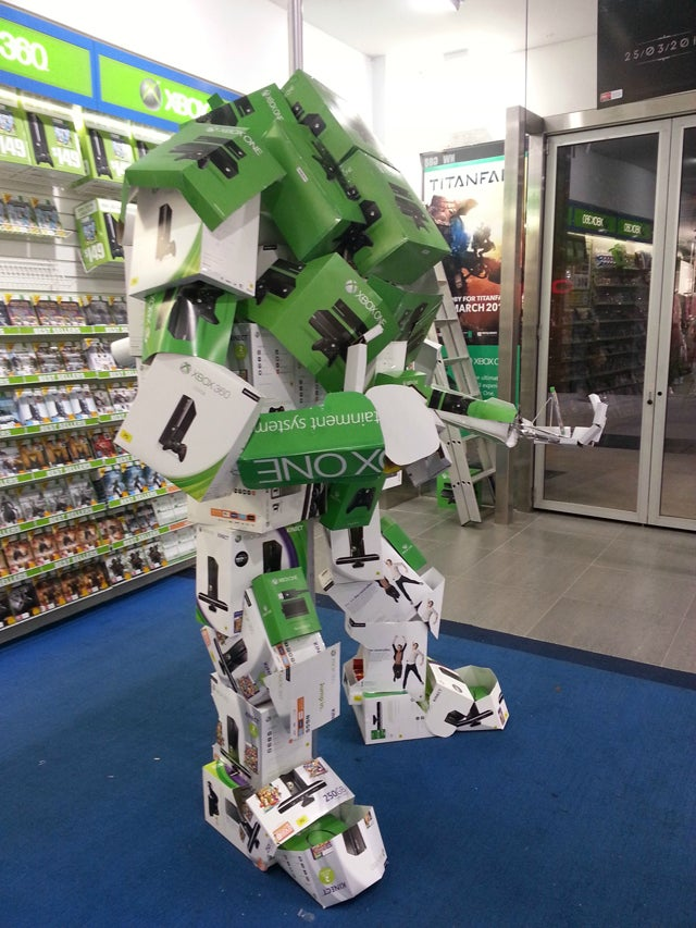 That's One Way To Build Titanfall's Giant Mech