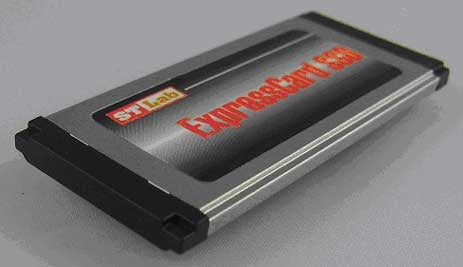 Sunrich Technology 32GB ExpressCard SSD Has Our Eyebrow Raised