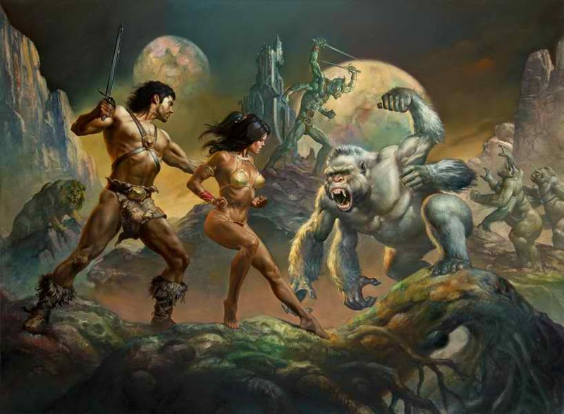 Go back to Barsoom, with new John Carter stories by some of your favorite authors