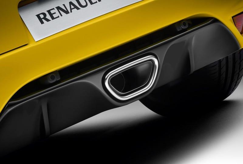 Renault Sport Mégane RS: Nous Vous Aimons Dans Jaune