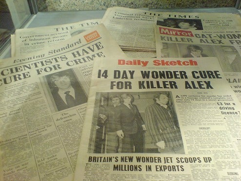 When Papers Had A Future