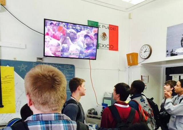 School Teachers Fail Our Youth, Let Them Watch Tournament In Class