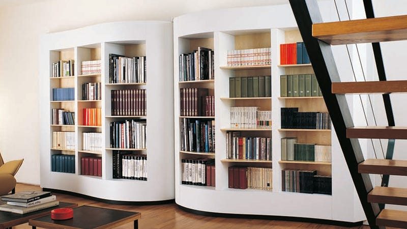 A Lovely Book-Shaped Shelf With a Terribly Awkward Name