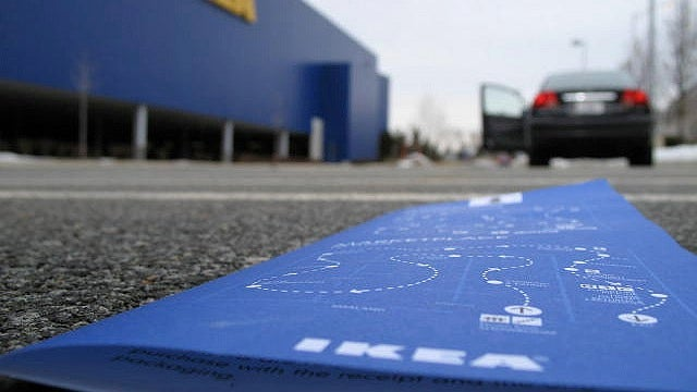 Speed Up Your IKEA Visits By Going In Through the Exit Doors