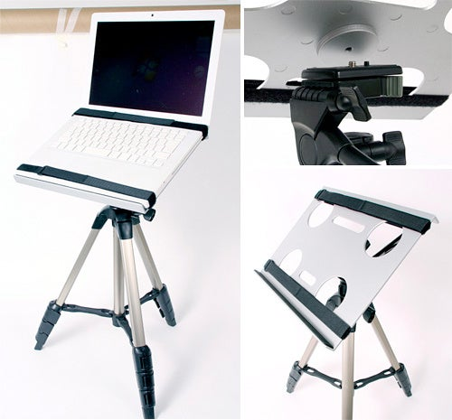 Laptop Tripod Stand—Because Why Should Cameras Get All The Fun?