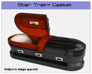 Star Trek Coffin Warps Your Corpse To the Final Nerd Frontier