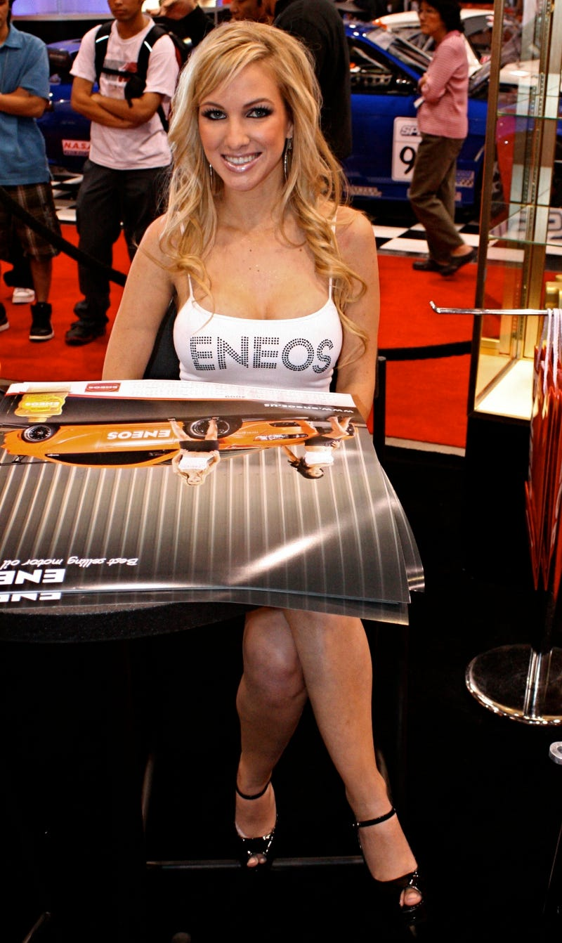 The Booth Professionals Of The 2008 SEMA Show