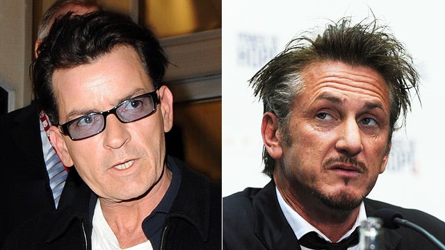 Charlie Sheen Is Going to Haiti with Sean Penn