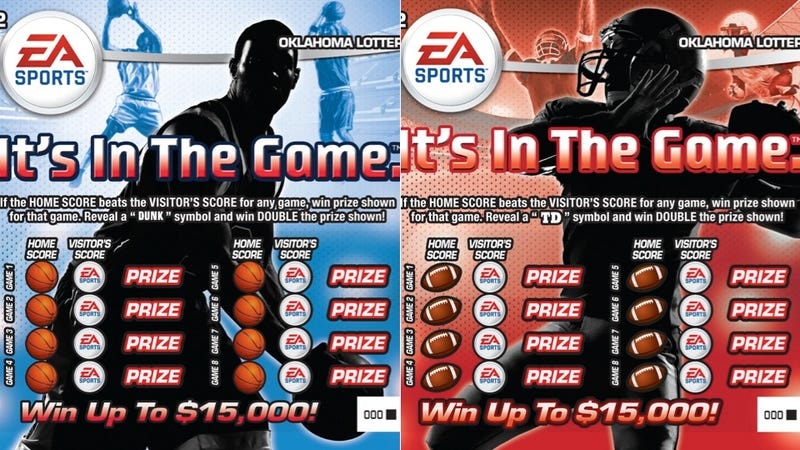 All It Takes is a Dollar and a Dream in EA Sports' Oklahoma Lottery Cards