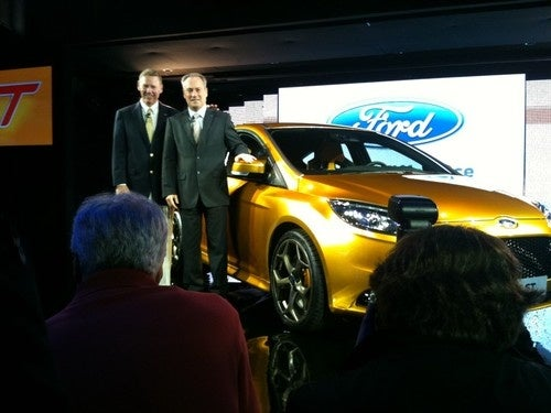 2012 Ford Focus ST: First Live Photos