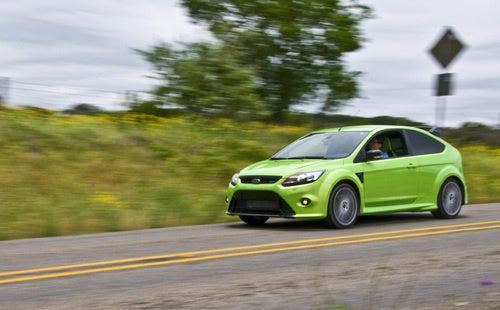 Ford Focus RS: Driving Photos