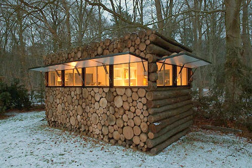 Hey, That's Not How You Build a Log Cabin