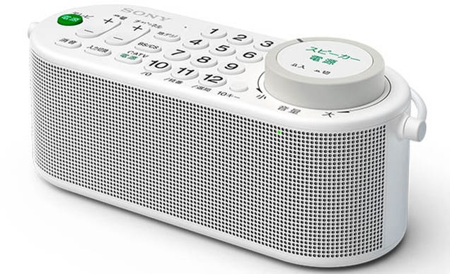 What the Hell Is This Combination TV Remote-Speaker, Sony?