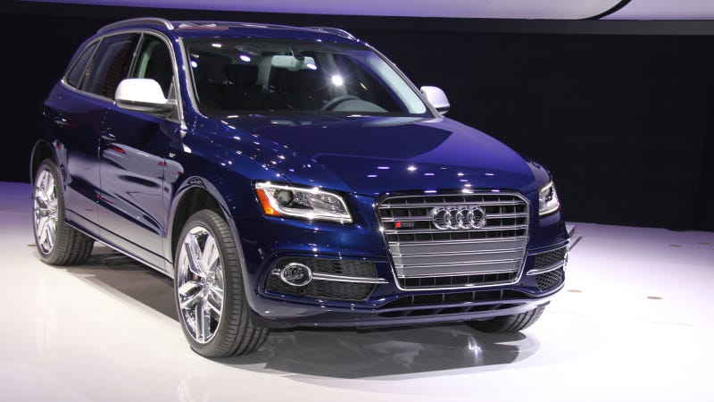 The Audi SQ5: No Diesel For You!