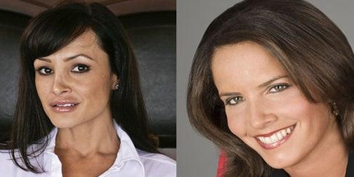 Porn Star or TV News Anchor?