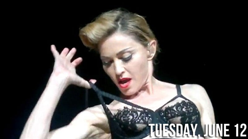 Jerks Debate Whether Madonna's Nipple Is Too Old to Air