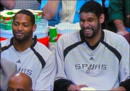 Tim Duncan Has Been Ejected For Being Amused