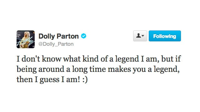 Dolly Parton Knows She's a Legend