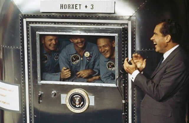 Read the speech Nixon prepared in case the Apollo 11 astronauts died on the moon