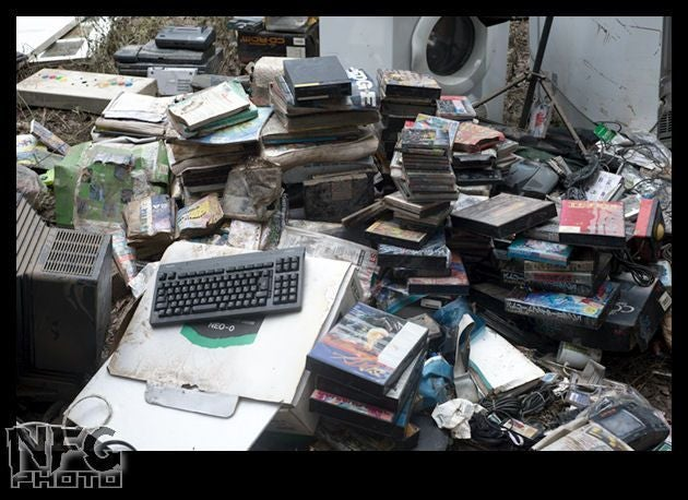 Vintage Gaming Collection Washed Away In Aussie Floods