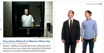 Apple's 'I'm a Mac, I'm a PC' Guys Stare at Death Row Inmate on NY Times' Website