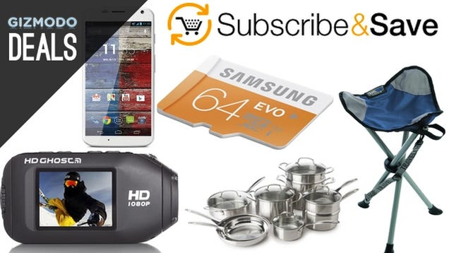 Upgrade Your Kitchen Gear, Cheaper Subscribe & Save, and More Deals