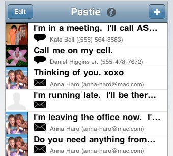 Pastie Speeds Up iPhone Email with Pre-Formatted Text
