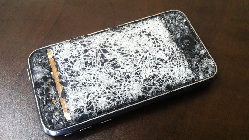 What Happens When Your Phone's Screen Shatters