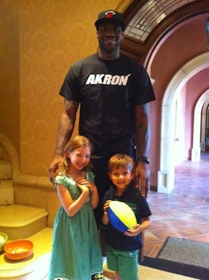 Time To Get Unreasonably Angry About LeBron's Akron/Heat T-Shirt