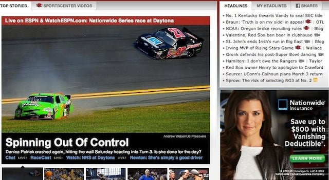 Mishaps In Online Advertising: The Danica Patrick Edition