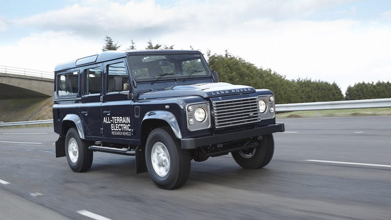 Land Rover Is Making Air-Cooled Electric Defenders Now