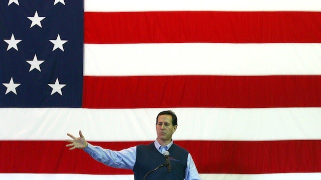 Santorum Campaign Worker Believes God Doesn't Want a Female President