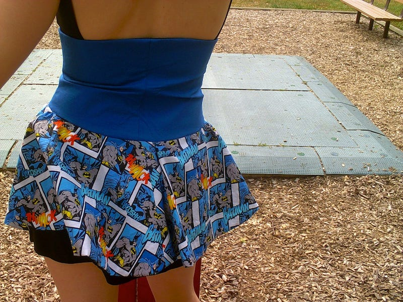 This Batman Skirt Makes Your Usual Nerd Clothing Go Up In Flames From Embarrassment
