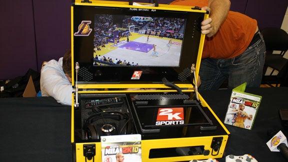 The NBA's Portable Xbox 360 Systems