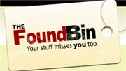 Find what you lost at TheFoundBin