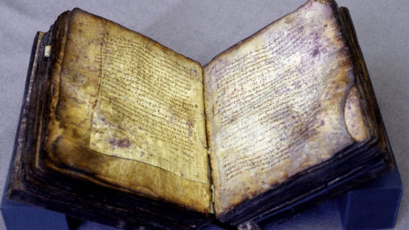 How scholars revealed the hidden text in a 1,000-year-old book
